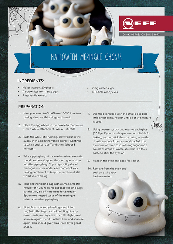 Neff Ghost Meringue Recipe