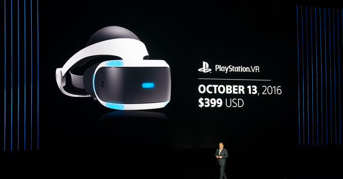 PlayStation VR talk at Sony press conference