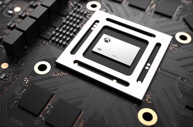 Xbox Scorpio Processor