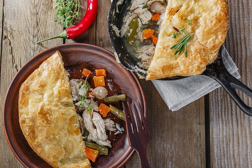 carrot-and-chicken-pie