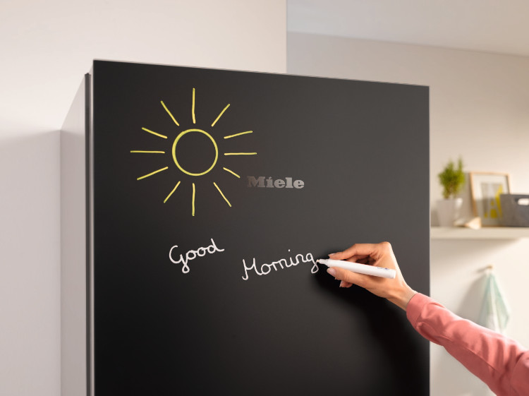 Miele Blackboard chalk writing