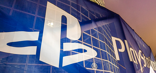 PlayStation banner at E3 2016