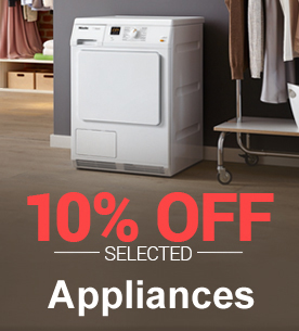 10% Off Selected Appliances