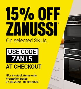 Zanussi in-stock 15 off