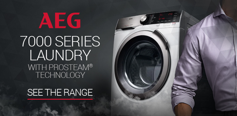 AEG 7000 Series Laundry with ProSteam Technology