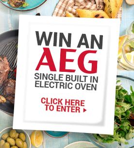 Win an AEG 9kg Washing Machine