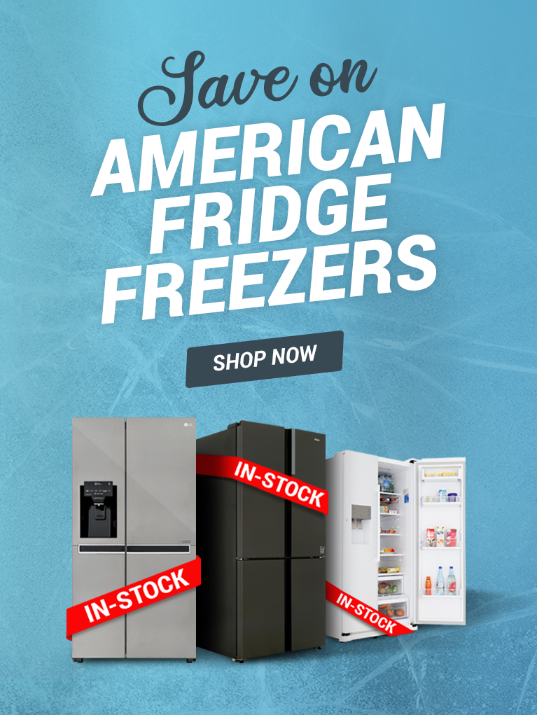 Save on American Fridge Freezers In Stock