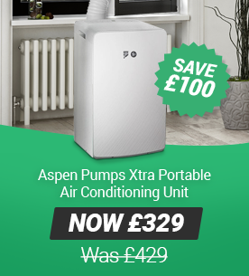 Apsen Pumps Xtra Portable Air Conditioning Unit