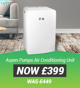 Aspen Pumps Xtra Portable Air Conditioning Unit Now 399 Was 449