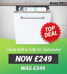 Candy CDI1LS38SA-80 Built In Fully Integrated Dishwasher