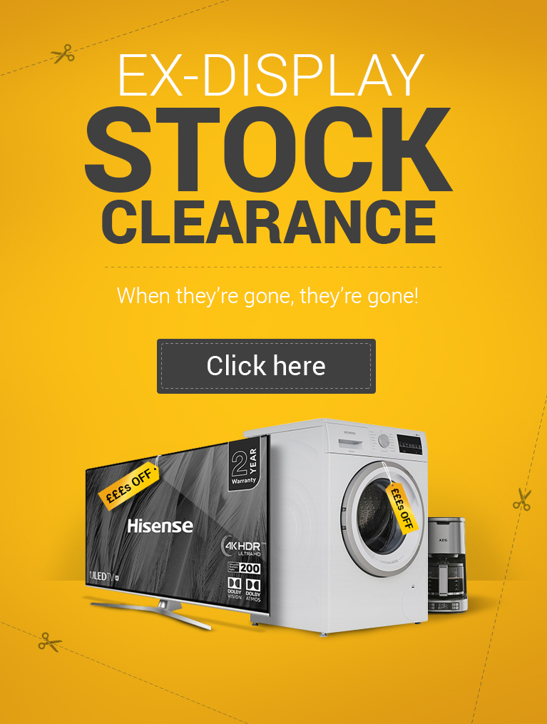 Ex-Display Stock Clearance