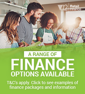 A range of finance options are available - click for examples