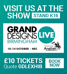 Come and visit us at the Grand Designs show in Birmingham