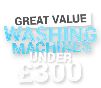 Great Value on Washers
