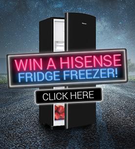 Win a Hisense Fridge Freezer