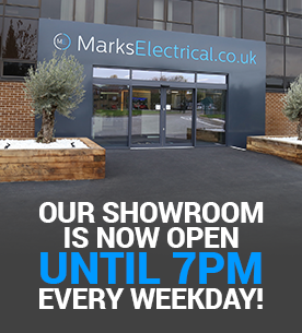 Our showroom is now open until 7 on weekdays