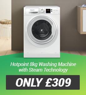 Hotpoint NSWM863CWUKN 8kg Washing Machine