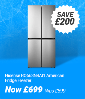 Hisense american fridge freezer