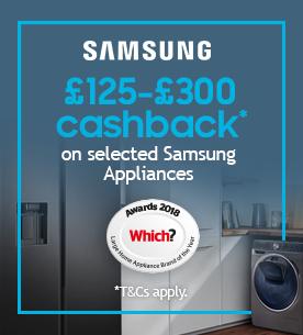 Samsung appliance cashback