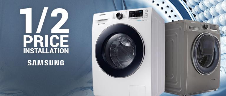 Half Price Samsung Laundry Installation