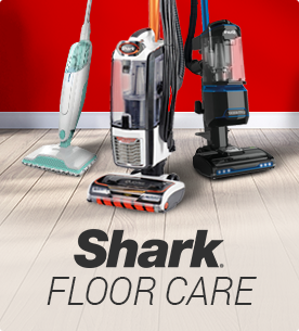 Shop Shark floor care cleaners for steam mops, upright vacuums and handheld vacuums