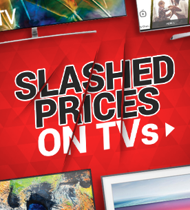 Prices slashed on TVs