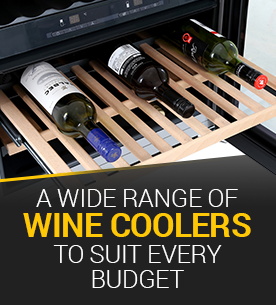 Wine Coolers to suit every budget