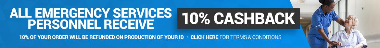 NHS 10% Cashback