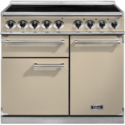 Falcon 1000 Deluxe Induction Cream Chrome 100cm Electric Induction Range Cooker
