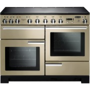 Rangemaster PDL110EICR/C Professional Deluxe 110 Induction Cream 110cm Electric Induction Range Cooker