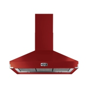 Falcon Super Extract Cherry Red 100cm Chimney Hood