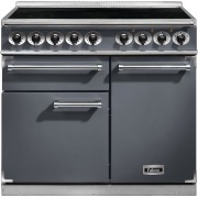 Falcon 1000 Deluxe Slate Brushed Chrome 100cm Electric Induction Range Cooker