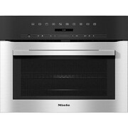 Miele ContourLine H7140BM CleanSteel Built In Combination Microwave