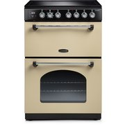 Rangemaster CLA60ECCR/C Classic Cream with Chrome Trim Electric Cooker with Double Oven