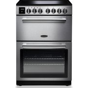 Rangemaster PROPL60ECSS/C Professional Plus Stainless Steel with Chrome Trim Electric Cooker with Double Oven