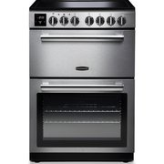 Rangemaster PROPL60EISS/C Professional Plus Stainless Steel with Chrome Trim Electric Cooker with Double Oven