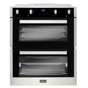 Stoves BI702MFCT Stainless Steel Built-Under Electric Double Oven