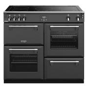 Stoves Richmond DX S1000Ei CB Anthracite 100cm Electric Induction Range Cooker