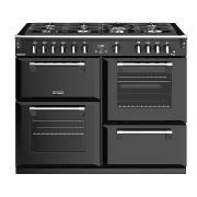 Stoves Richmond S1100G Black 110cm Gas Range Cooker
