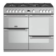 Stoves Sterling S1000G Stainless Steel 100cm Gas Range Cooker