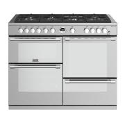 Stoves Sterling S1100G Stainless Steel 110cm Gas Range Cooker