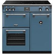 Stoves Richmond DX S900Ei CB Thunder Blue 90cm Electric Range Cooker