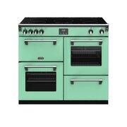 Stoves Richmond DX S1000Ei CB Mojiti Mint 100cm Electric Range Cooker
