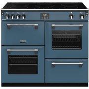 Stoves Richmond DX S1000Ei CB Thunder Blue 100cm Electric Range Cooker