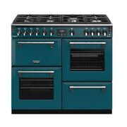 Stoves Richmond DX S1000G CB Kingfisher Teal 100cm Gas Range Cooker