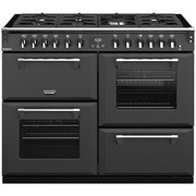 Stoves Richmond Deluxe S1100DF CB Anthracite Grey 110cm Dual Fuel Range Cooker