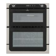 New World NW701DOP Stainless Steel Double Built Under Electric Oven