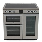 Belling Cookcentre 90E Professional Stainless Steel 90cm Electric Ceramic Range Cooker