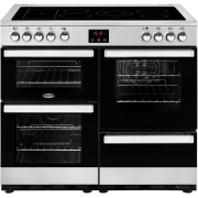 Belling Cookcentre 100E Stainless Steel 100cm Electric Ceramic Range Cooker