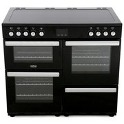 Belling Cookcentre 100E Black 100cm Electric Range Cooker